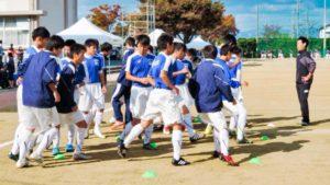 浜松東高校サッカー部練習風景
