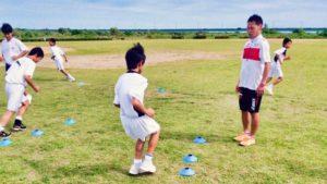 浜松笠井中学校サッカー部練習風景