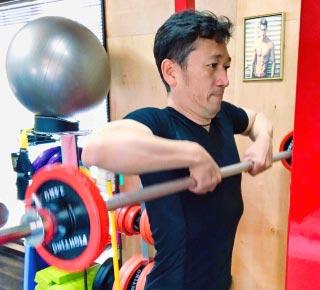 スポーツパフォーマンスアップのためのトレーニング風景