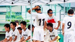 浜松東高校サッカー部試合帯同
